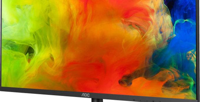 """AOC 21.5"""" IPS 7ms Full HD Frameless Monitor"""