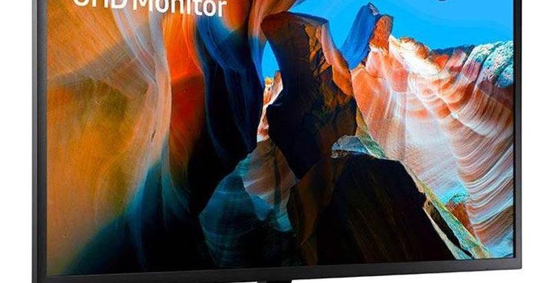 "Samsung UJ59 32"" 4K QLED 60Hz Monitor"