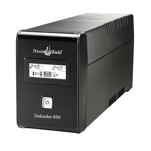 PowerShield Defender 650VA UPS with AVR