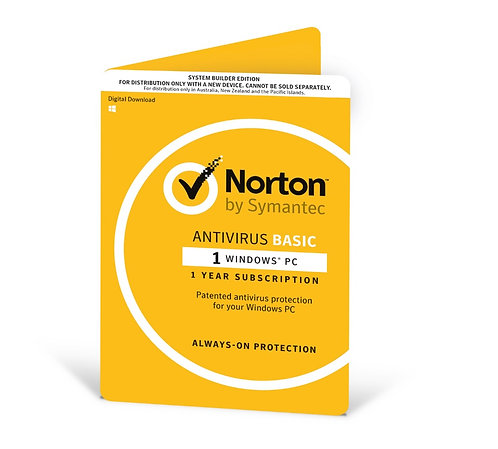 Norton Antivirus - 1 Device - 12 Months
