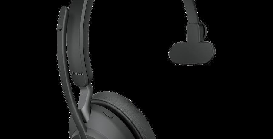 Jabra Evolve2 65UC Wireless USB-A Mono Black Headset