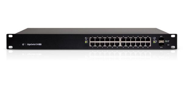 Ubiquiti EdgeSwitch 24-Port ES-24-500W Managed PoE+ Switch