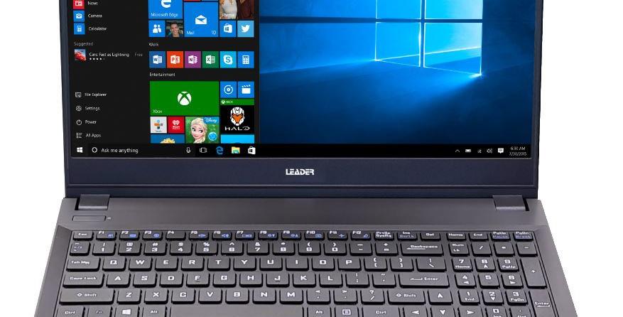 "Leader Companion 513 Notebook 15.6"" i7 16GB, 500GB SSD, DVD, Windows 10 Home"