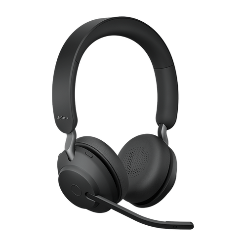 Jabra Evolve2 65 MS Wireless USB-A Stereo Black Headset