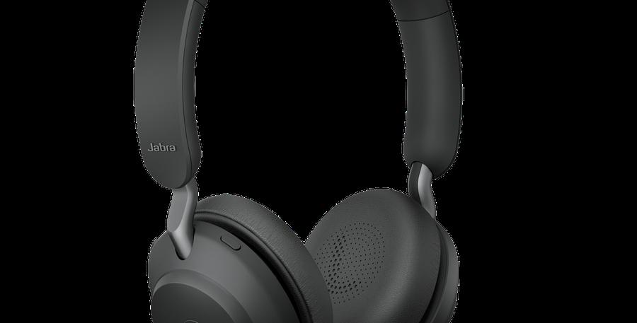 Jabra Evolve2 65MS Wireless USB-A Stereo Black Headset