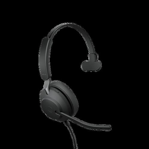 Jabra Evolve2 40USB-C UC Mono Premium Headset