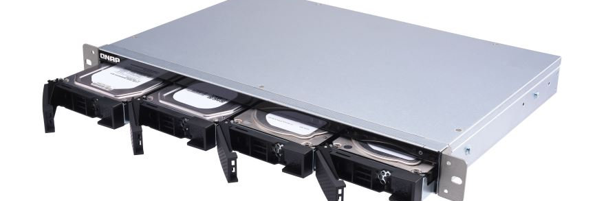 """QNAP TS-431XEU-2G 4 Bay 3.5"""" ARM Quad-Core Rack Mount NAS"""