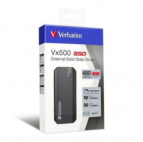 Verbatim EXTERNAL SSD 480GB USB