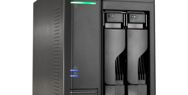 "Asustor AS6302T 2 Bay 3.5"" Intel Celeron Dual Core Virtualization NAS"