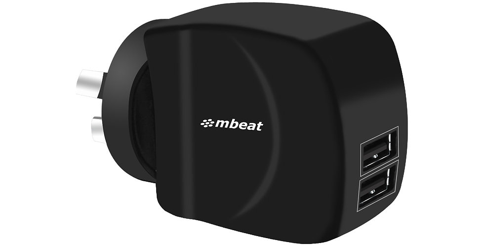 mbeatGorilla Dual USB Ports Smart Charger