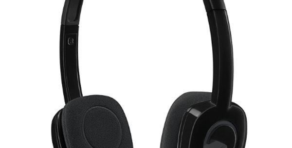 Logitech H151 Stereo 3.5mm Headset with Microphone