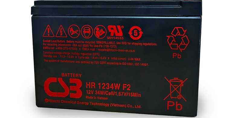 PowerShield 12 Volt Replacement UPS Battery