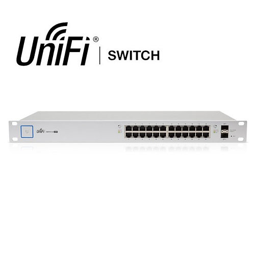 Ubiquiti UniFi 24-port US-24-250W Managed PoE+ Switch