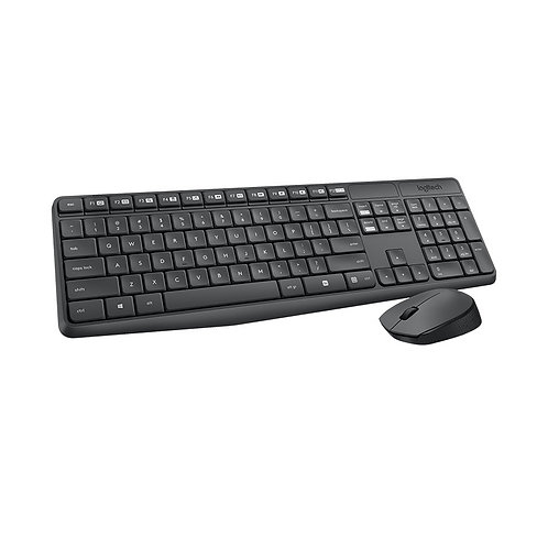 Logitech MK235 Wireless Keyboard and Mouse Combo 2.4GHz