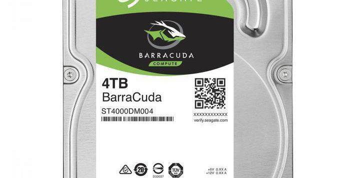 """Seagate Barracuda 4TB 3.5"""" HDD"""