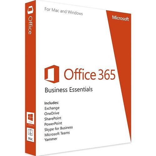 Office 365 Business Essentials Mailbox License