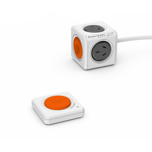 ALLOCACOC POWERCUBE Extended 4 Outlets with Remote Control