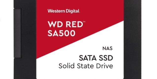 """Western Digital WD Red 500GB 2.5"""" NAS SSD"""