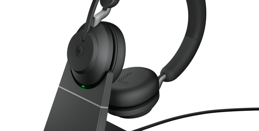 Jabra Evolve2 65 MS USB-C Stereo Wireless Stand Black Headset