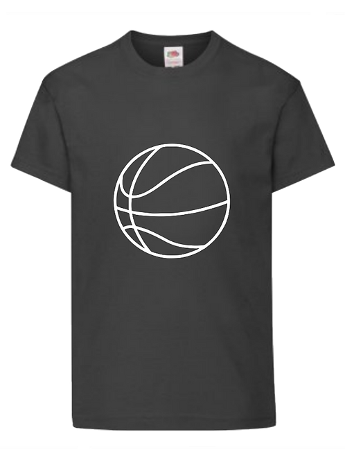 Basketball t-shirt  - personalised - Name and number on back