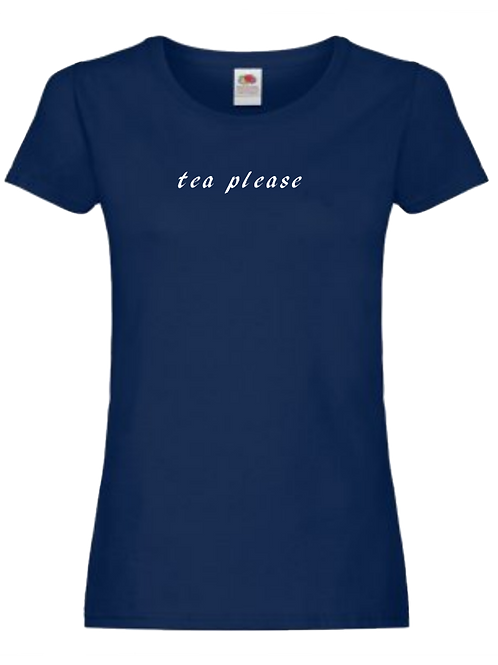 Womens tea t-shirt
