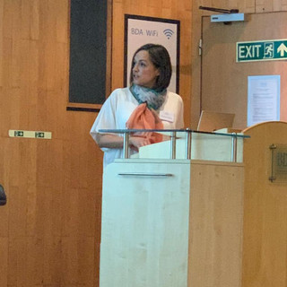 Lecturing at the BDA for the he British Society of Dental asleep Medicine