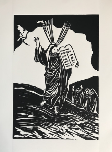 Moses Receives the Tablets