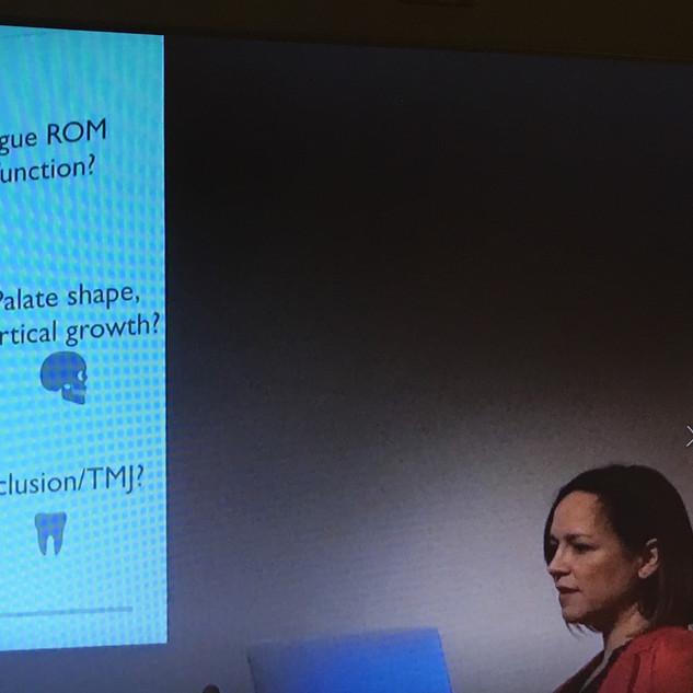 Lecturing at the sleep and MFT Symposium in London at the Royal Society of Medicine
