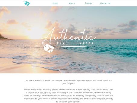 Authentic Travel - Website Refresh