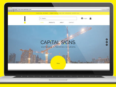Capital Signs - New Project