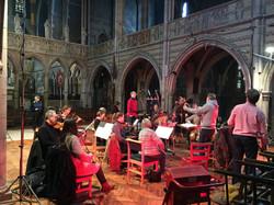 Nigel Short conducting Aksel Rykkvin