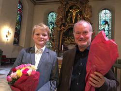 Aksel Rykkvin and Kåre Nordstoga
