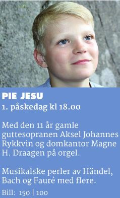 Upcoming solo concerts in Nidaros and Oslo Cathedral!