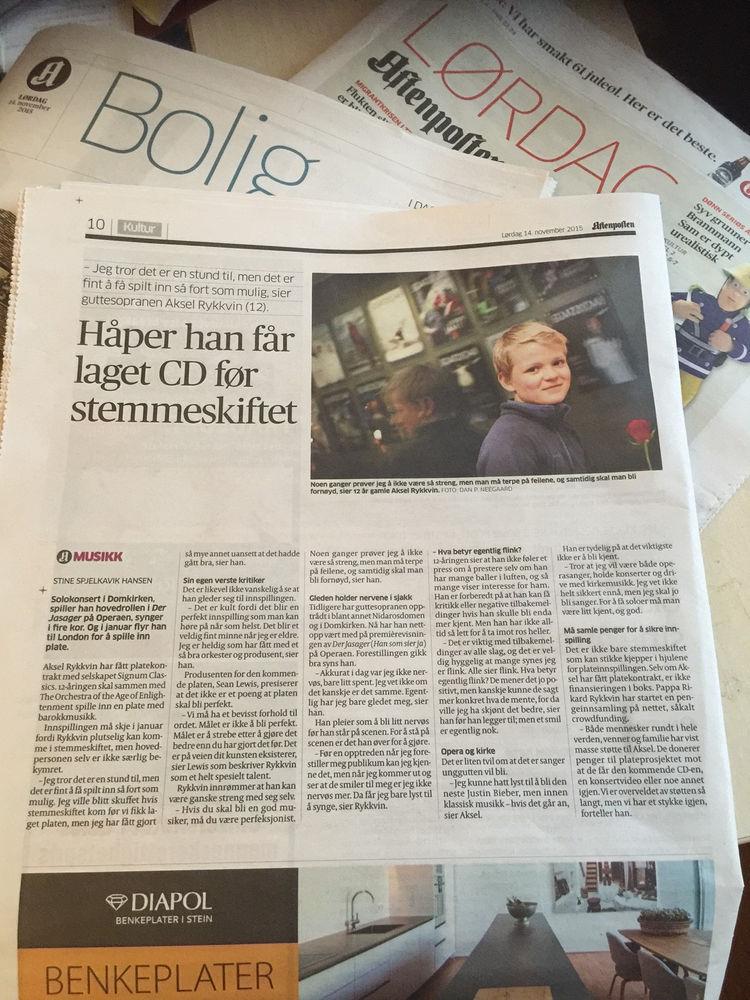 Brannmann Sam Aftenposten