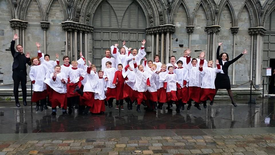 Oslo Cathedral Boy´s Choir in Nidarosdomen