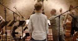 "Recording session for ""Light Divine"""