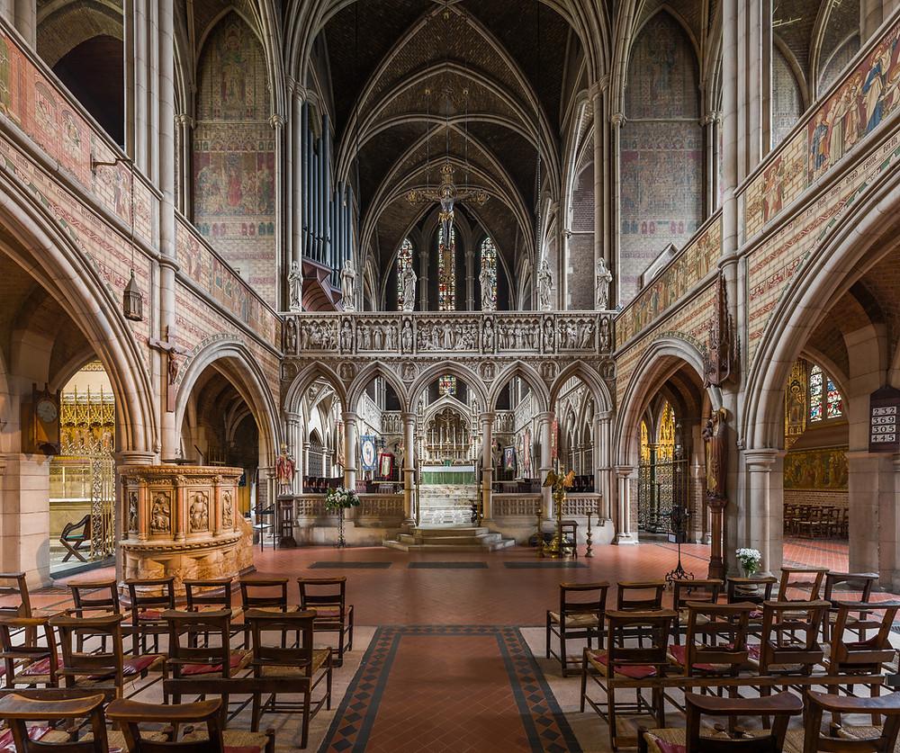 St. Augustine's, Kilburn, London - venue for Aksel Rykkvin's album recording
