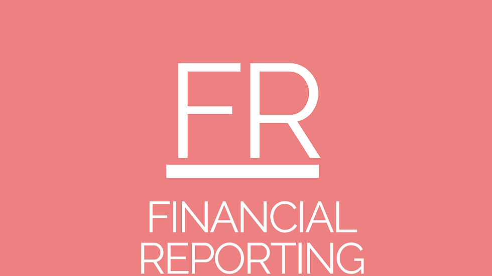 Financial Reporting (FR) - CPA Resources