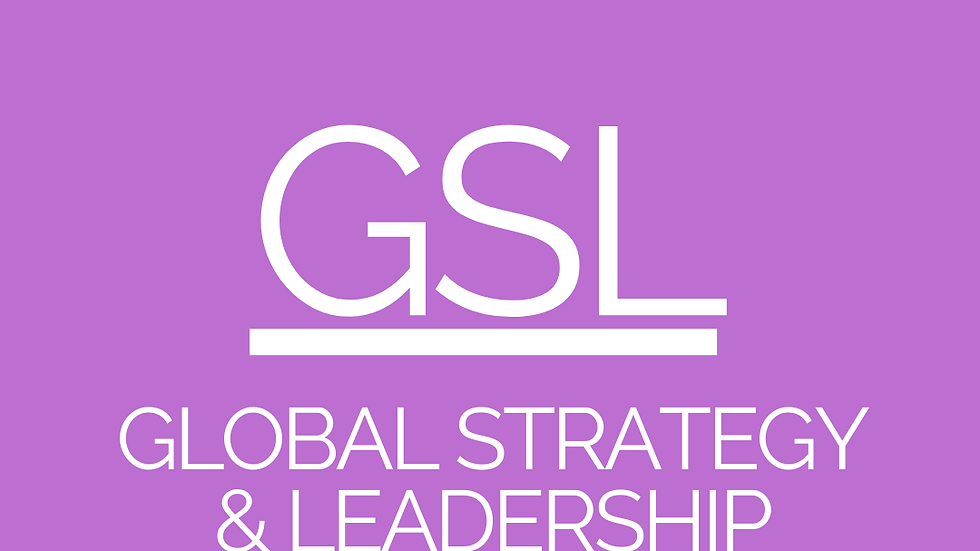 Global Strategy & Leadership (GSL) - CPA Resources
