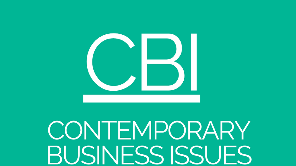 Contemporary Business Issues (CBI) - CPA Resources