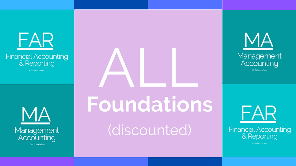 Foundations - ALL