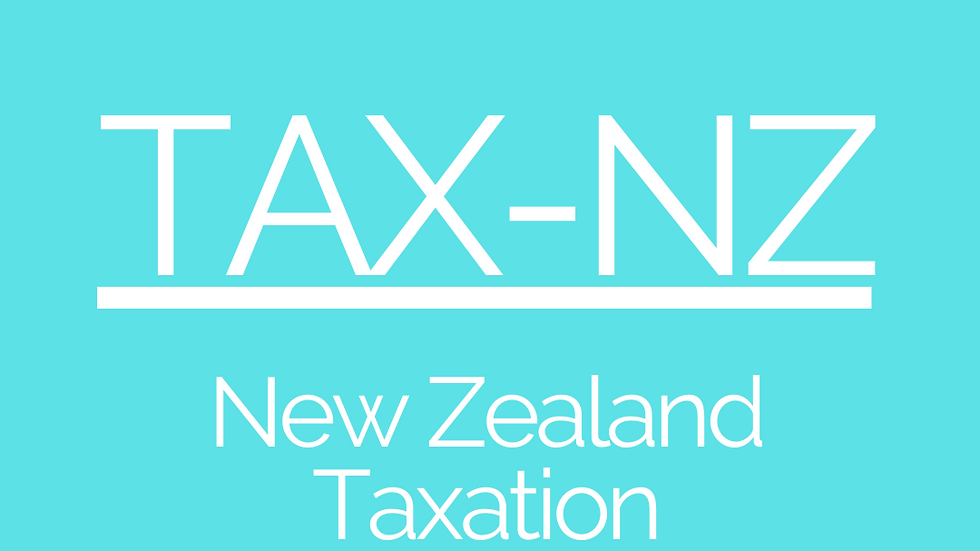 Taxation (NZ) - CPA Resources Download