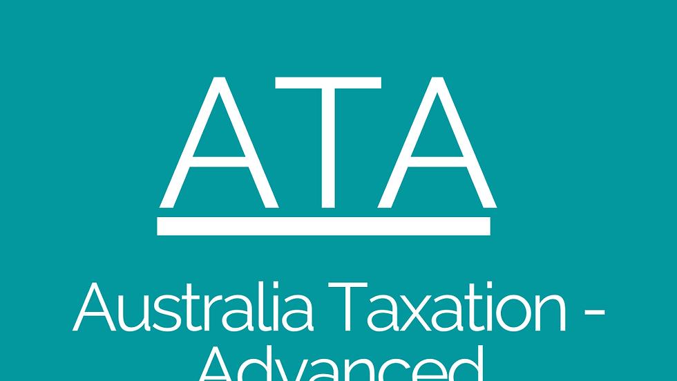 Australia Taxation - Advanced (ATA)