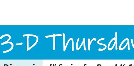 3-Thursdays- Series for Rural K-12 Educators