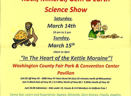 Rock, Mineral, Gem and Earth Science Show