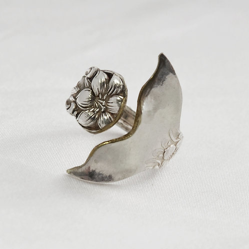 Whale/Mermaid Tail Spoon Ring