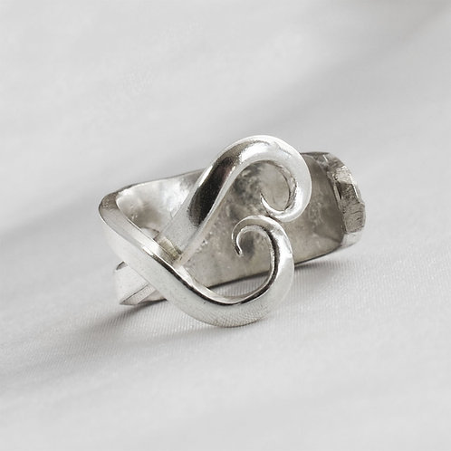 ForkHeart Ring