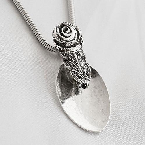 Rose Spoon Pendant