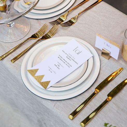 Gold Wedding Hire Golden Hope