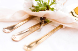Gold Wedding Hire The Rose